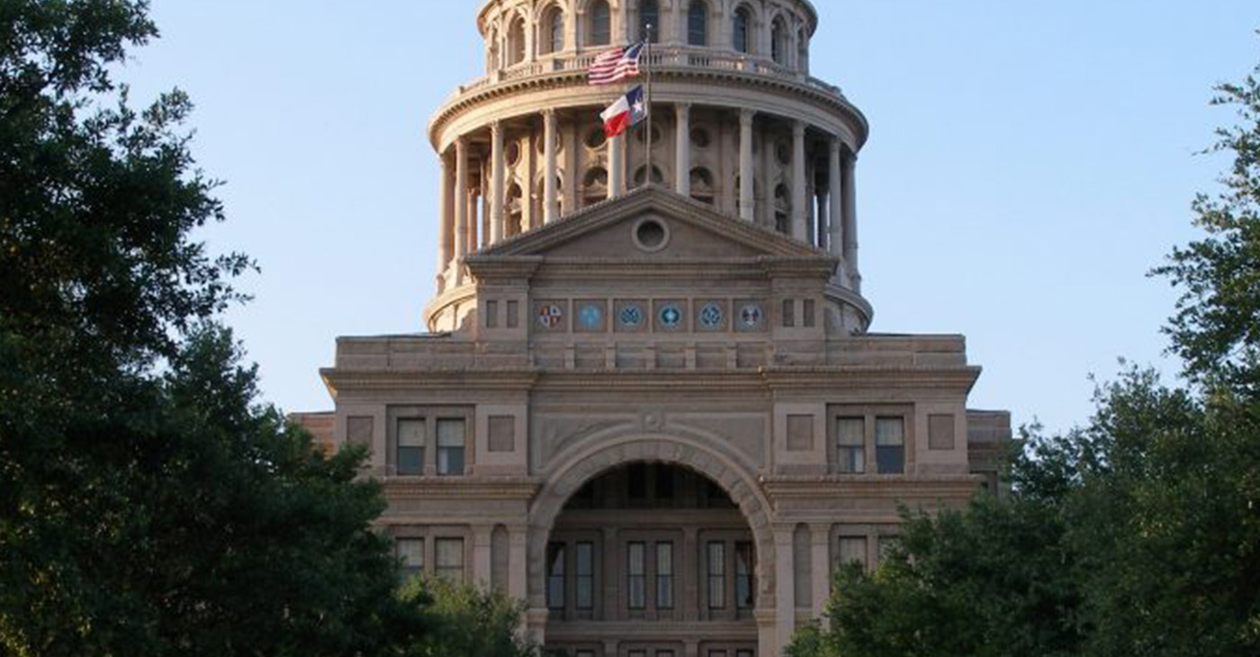 Texas State Capitol (Photo by: defendernetwork.com)
