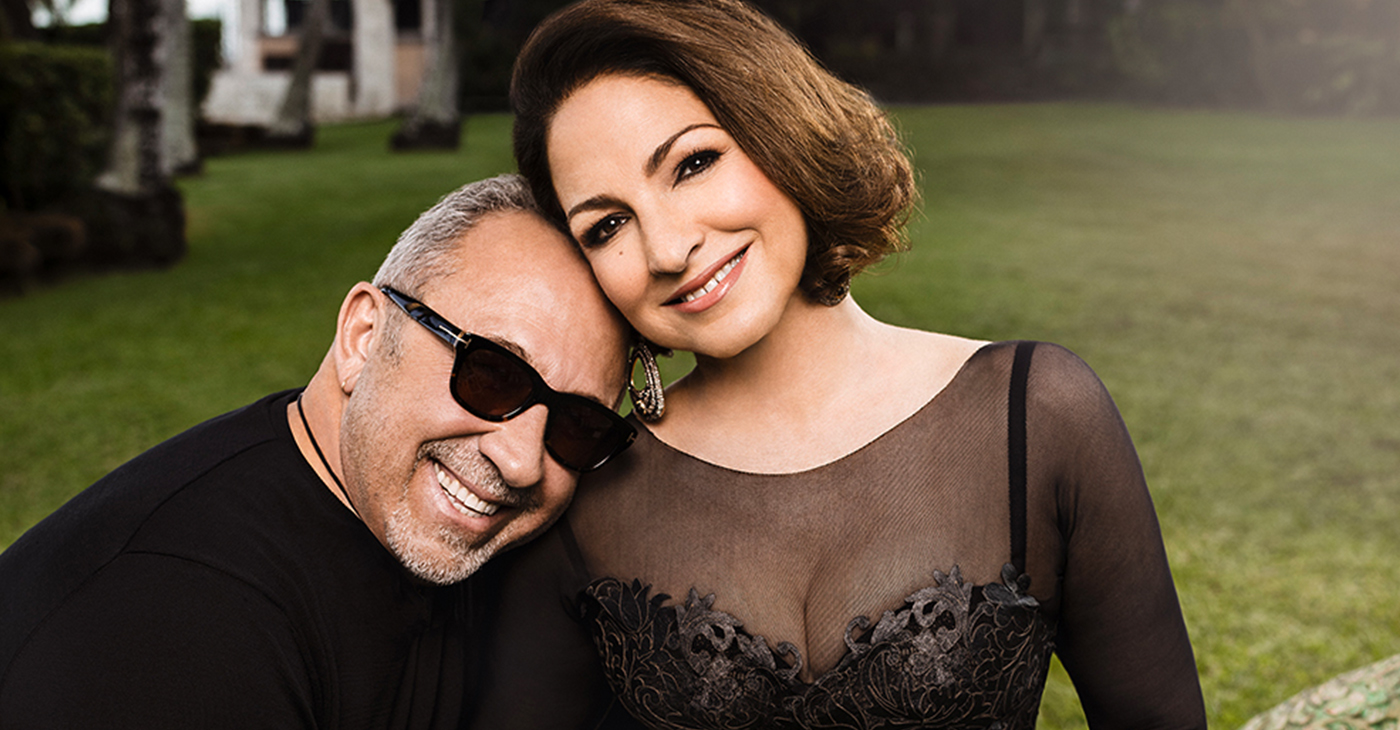 Emilio and Gloria Estefan (photo: Omar Cruz, Courtesy Crescent Moon, Estefan Enterprises Inc.)