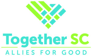 Together SC serves South Carolina's nonprofit and philanthropic community. Through its member organizations, it aims to support and empower volunteer and professional leaders dedicated to community service, leadership, and caring.