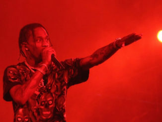 Travis Scott performing at the Rolling Loud Festival 2018 in Miami. (Photo credit: A.R. Shaw for Steed Media)