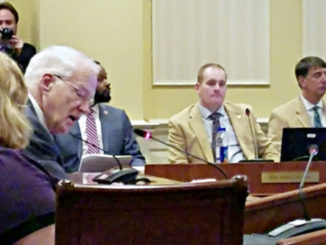 """William E. """"Brit"""" Kirwan (second from left) briefs two Maryland Senate committees in Annapolis on a proposal to restructure the state's public education system on Jan. 24. (William J. Ford/The Washington Informer)"""