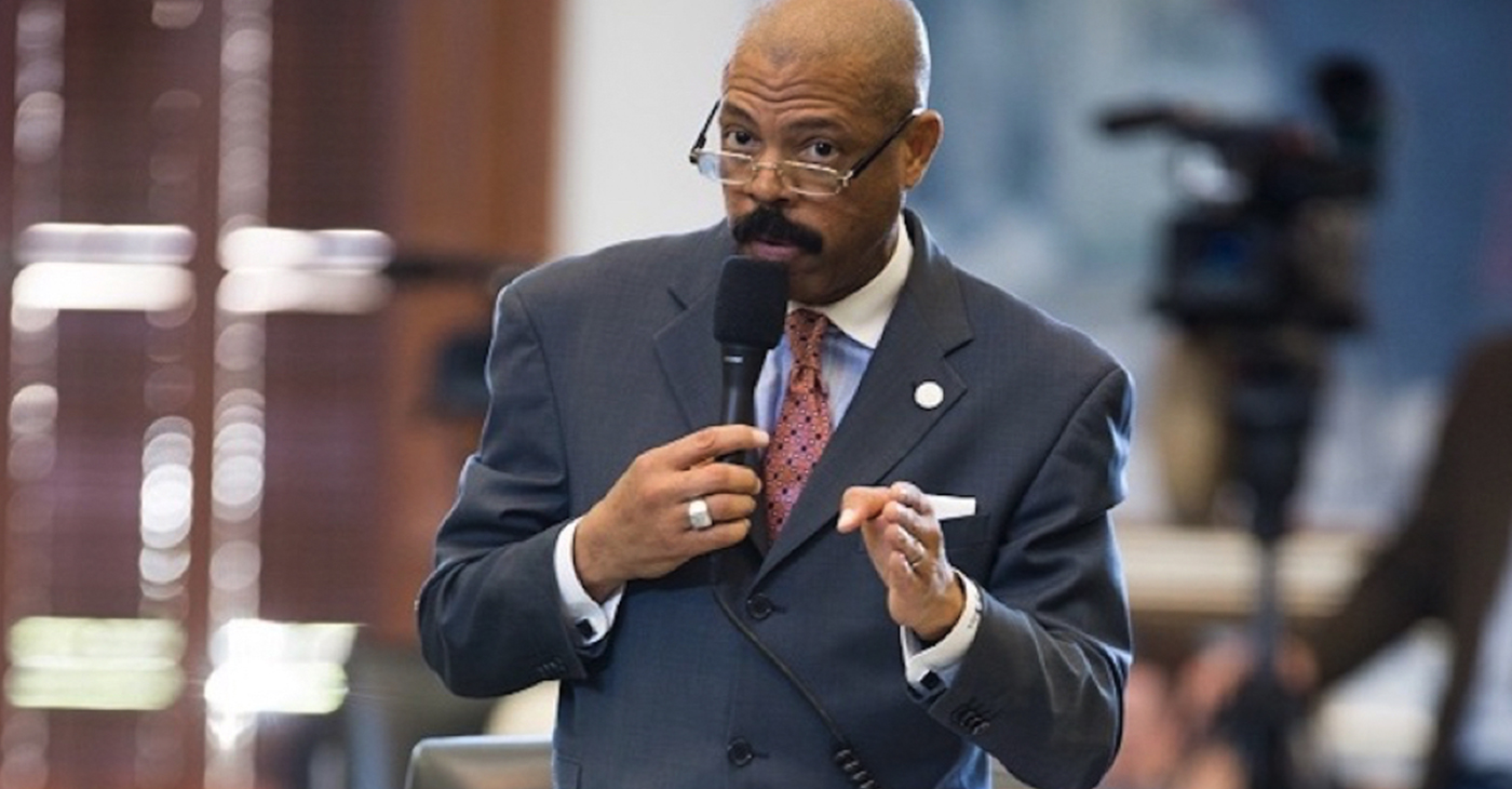 Caption: Texas State Senator Borris Miles