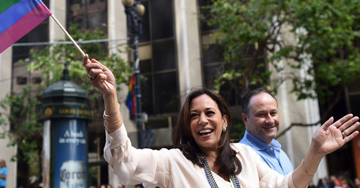 """""""Justice. Decency. Equality. Freedom. Democracy. These aren't just words. They're the values we as Americans cherish. And they're all on the line now,"""" Harris said in the video, teasing her official kickoff in her birthplace of Oakland next Sunday."""