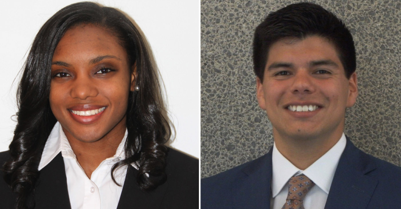 Both Ja'Qulane Scales and Joshua Chazaro are pursuing a medical education, not only to pave the way for minority students interested in becoming ophthalmologists, but also to provide better care to patients in underserved communities.