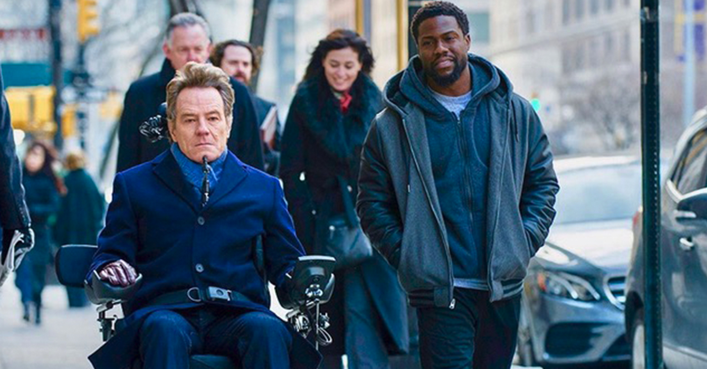 Bryan Cranston and Kevin Hart co-star in The Upside