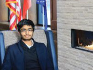 Karan is one of the 40 Regeneron Science Talent Search finalists that will compete in Washington, DC. Picture by University School of Milwaukee.