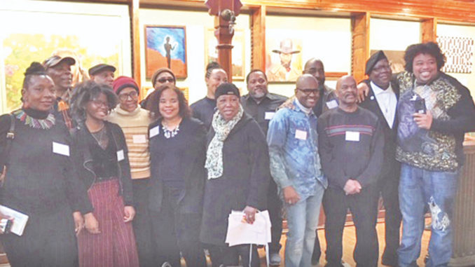 Saturday, at the Howland Cultural Center, 20 local artists took part in the Opening Reception of the 25th Annual African-American Art Exhibit, celebrating Black History Month. The Opening allowed artists to interact with guests about their art as well as enjoy musical entertainment and refreshments.