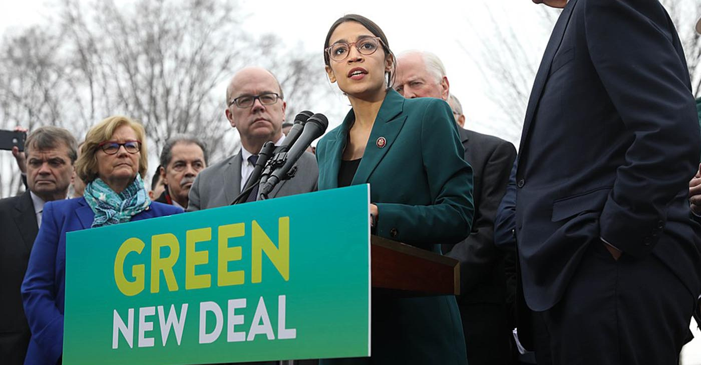 Congress Woman Alexandria Ocasio-Cortez (Photo by: Wiki Commons)