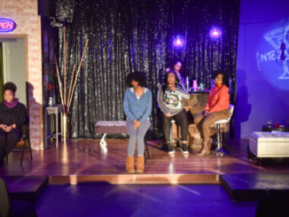 Rehearsal For Colored Girls at Encore Theatre and Gallery in Birmingham, Alabama. (Frank Couch for The Birmingham Times)