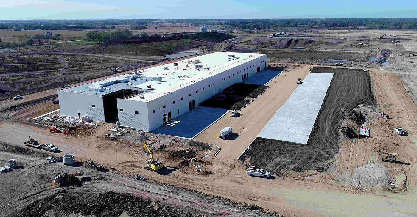 Foxconn project site (Photo by: milwaukeecourieronline.com)