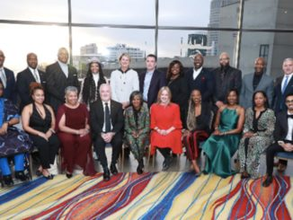 GM Executives, past and present, photographed with the 2019 GMAAN Black History Month honorees. (Photo provided)