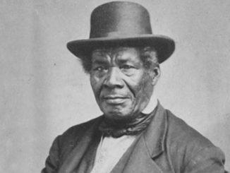 George Bonga, ca. 1870 (Photo Credit: Charles Alfred Zimmerman, courtesy MN Historical Society)