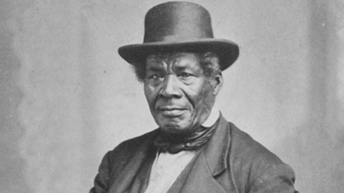George Bonga, ca. 1870 (Photo Credit: Charles Alfred Zimmerman, courtesy MN Historical Society)