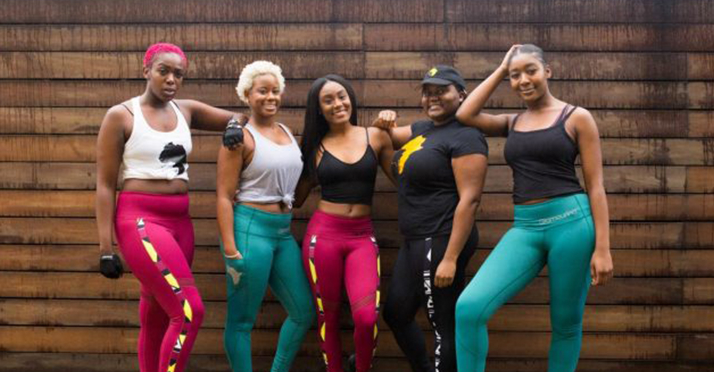 Glamourina is an African-inspired active-wear brand established in 2015 that targets culturally conscious women. (Courtesy Photo)