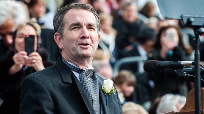 Governor Ralph Northam Gives Inaugural Address (Photo by: Wiki Commons)