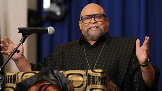 Dr. Maulana Karenga (Photo by: precinctreporter.com)