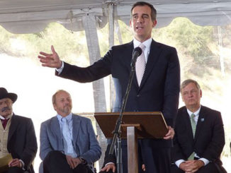 Los Angeles Mayor Eric Garcetti (Photo by: Wiki Commons)