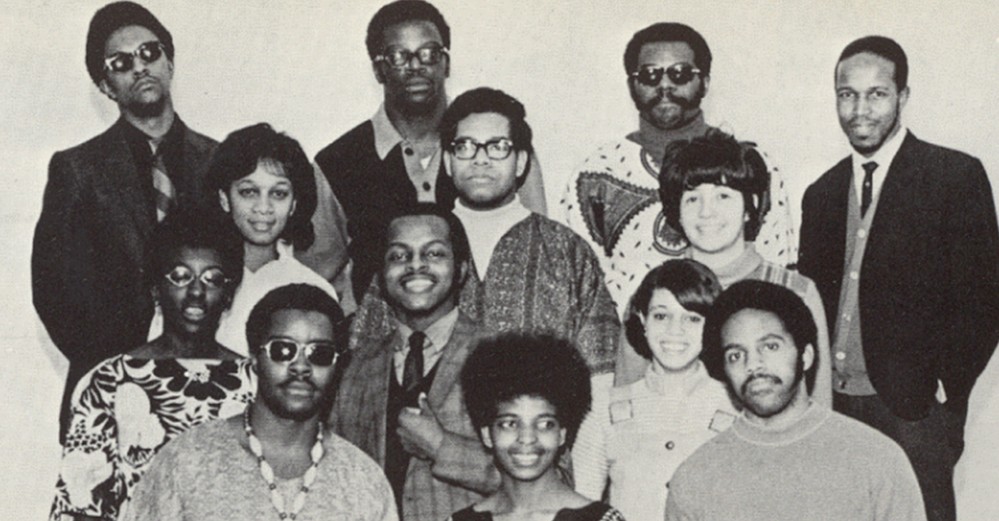 Founding PRIDE members, circa 1969 (Photo Courtesy of Hamline)