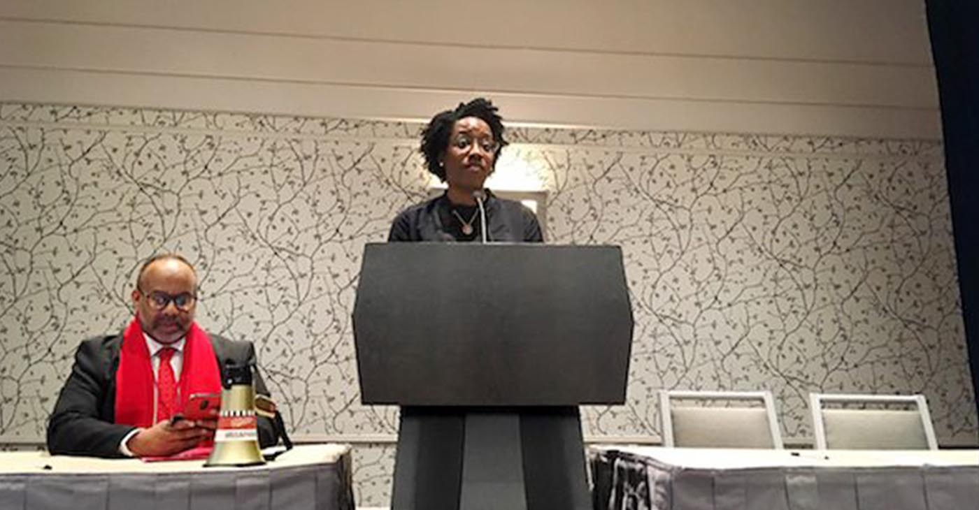 Rep. Lauren Underwood (James Wright/The Washington Informer)