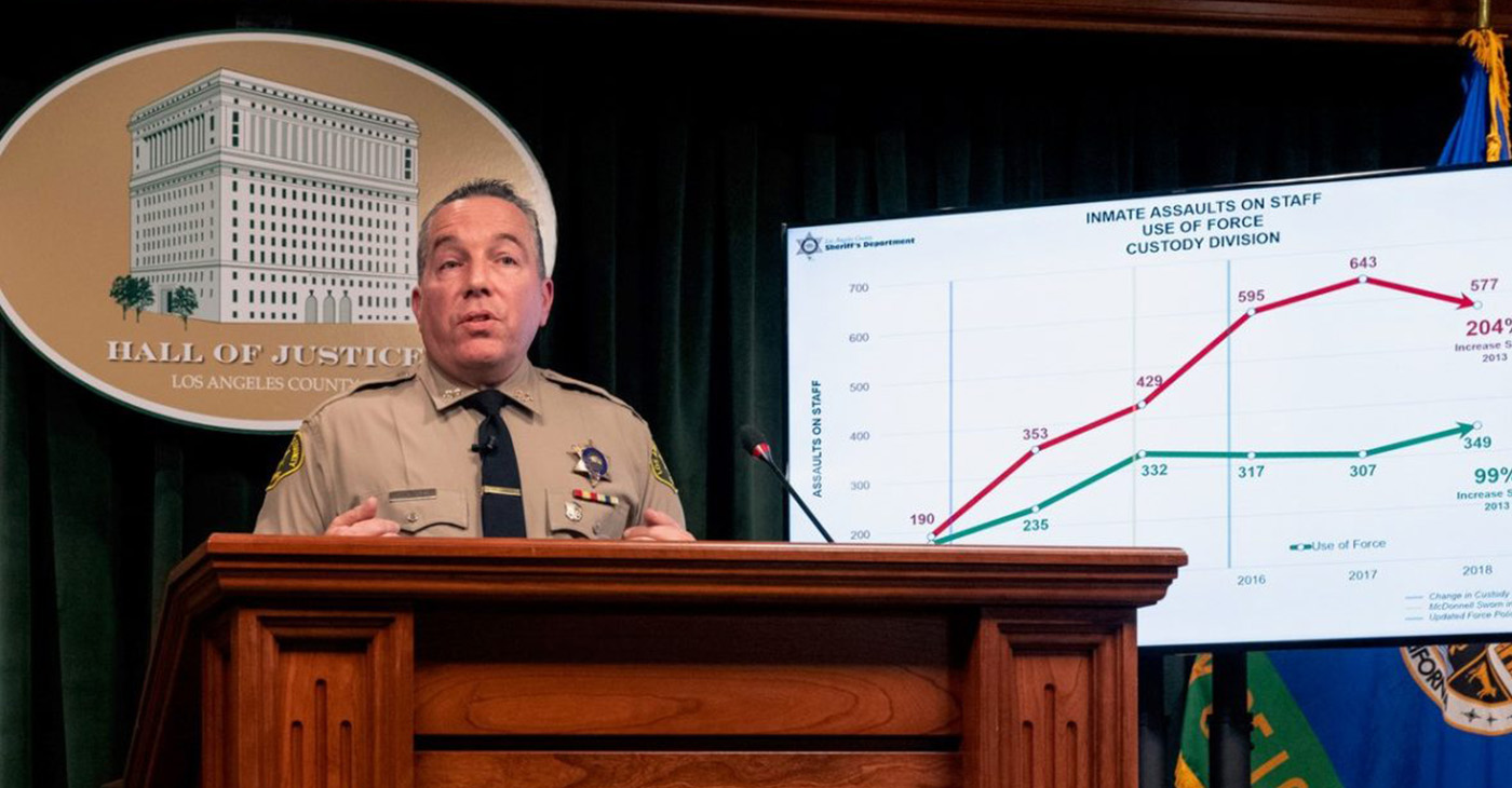 Sheriff Alex Villanueva (Photo by: wavenewspapers.com)