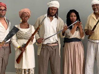 Slave Revolt Reenactment (Photo by: ladatanews.com)