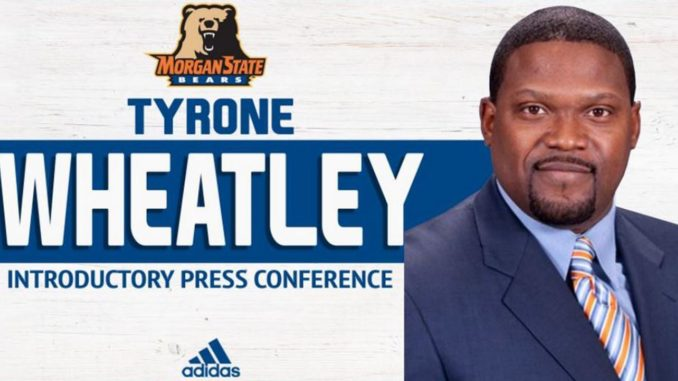 Morgan State hired former NFL running back Tyrone Wheatley as the 22nd coach in school history effective February 21.