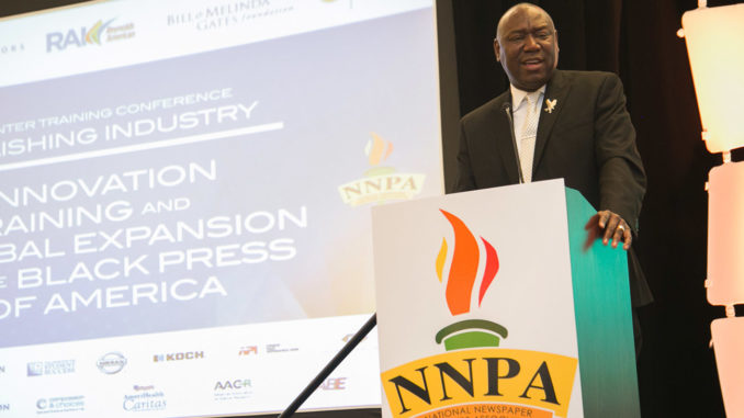 """Once you get a felony conviction, your life is practically ruined based off of the current laws on the books in many states,"" said nationally-recognized civil rights attorney Benjamin L. Crump while speaking to attendees and members of the Black Press at the National Newspaper Publishers Association (NNPA) Mid-Winter Training Conference last week in Orlando. ""It is as if you are walking dead, but they just haven't given you the death certificate."""