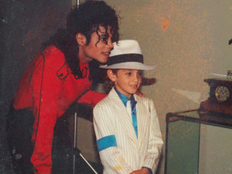 "Michael Jackson and a young Wade Robson/Courtesy ""Leaving Neverland""/Sundance Institute"