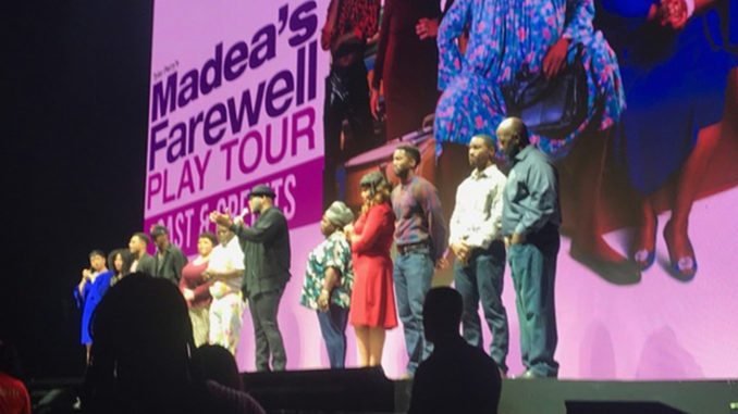 The national tour of Tyler Perry's Madea's Farewell is scheduled to end in Atlanta, GA at the end of May.