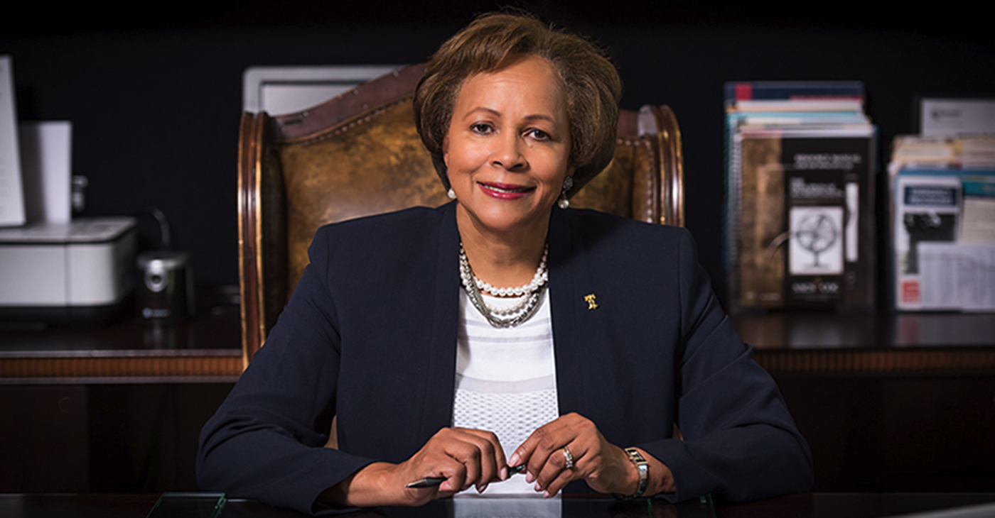 Dr. Phyllis Worthy Dawkins was selected by the Board of Trustees as the Interim President of Bennett College (Photo: Bennett College)