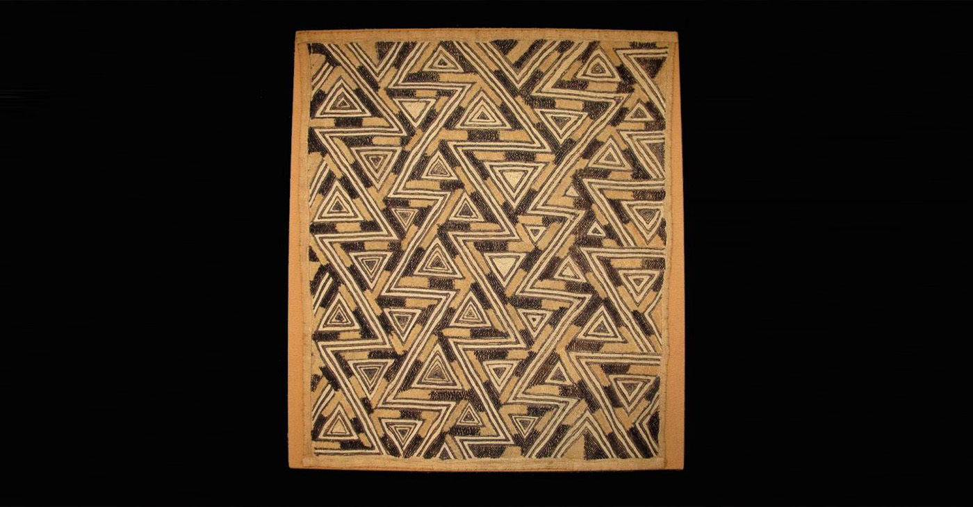 Unidentified Kuba Artist. Prestige Cloth 1959‑1960. Kasai Province, Democratic Republic of the Congo. Private Collection, R.18060.6 (Courtesy Photo BMA)