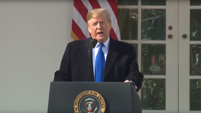 On Friday, 2-16-2019, the president signed a bi-partisan bill to keep the government open, but he also declared a national emergency on the border with Mexico.