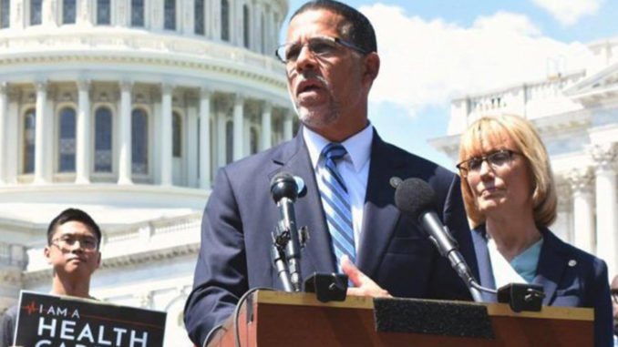 Congressman Anthony Brown (D-MD) is rallying in support of transgender military service. (Courtesy Photo)