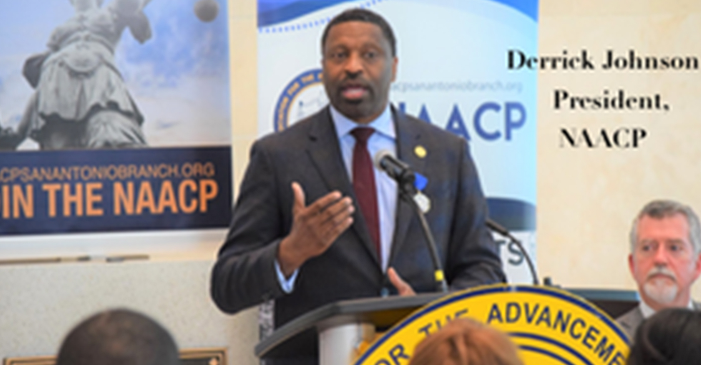 NAACP President Derrick Johnson