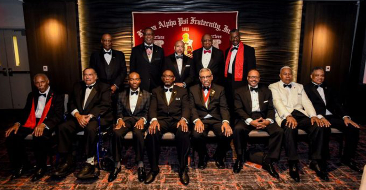 The Hyattsville/ Landover alumni chapter of Kappy Alpha Psi Fraternity celebrated its 40th anniversary with a ceremony at the Hotel at the University of Maryland in College Park. (Courtesy Photo)