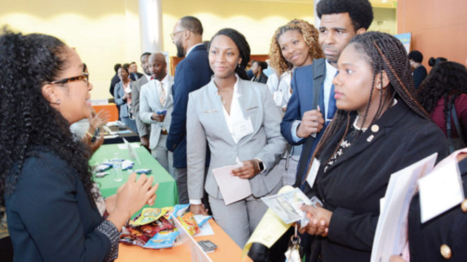 Attorneys speak to students about entering the legal profession. (Photo courtesy of FAMU)