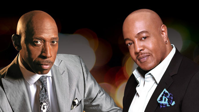 Jeffrey Osborne and Peabo Bryson will perform live on Sunday March 24.