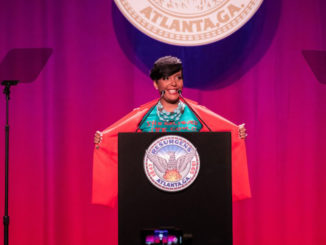 """The best is yet to come,"" said Atlanta Mayor Keisha Lance Bottoms, who delivered her second ""State of the City"" address on Thursday, March 14, at the Georgia World Congress Center in downtown Atlanta. (City of Atlanta)"