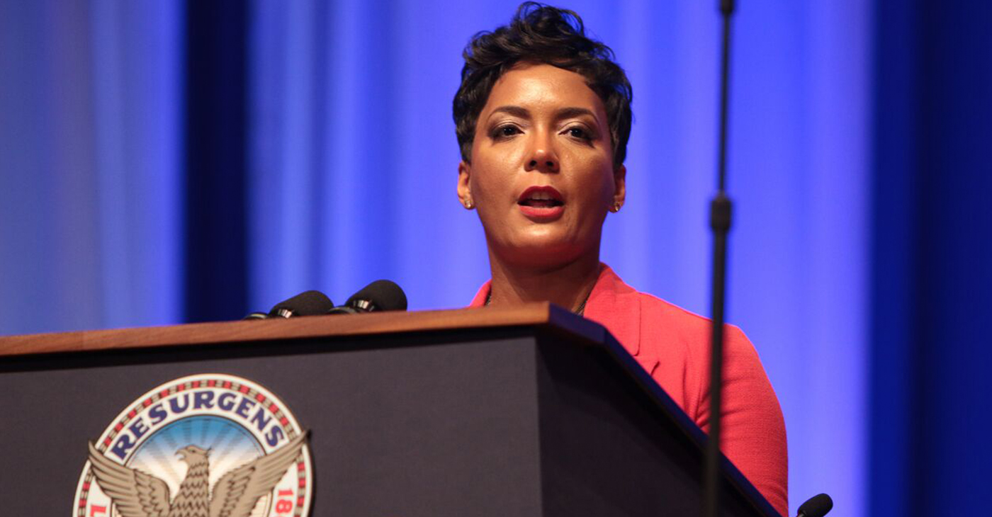 Atlanta Mayor Keisha Lance Bottoms. (Photo by: Itoro N. Umontuen/The Atlanta Voice)