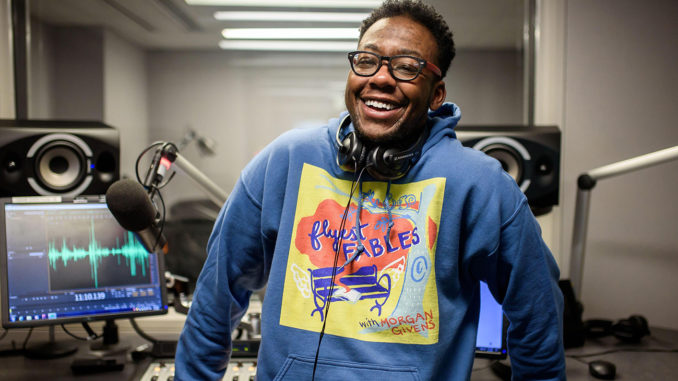 """""""Flyest Fables"""" is a podcast for all youth and adults by storyteller, producer and creator Morgan Givens. (Courtesy Photo)"""