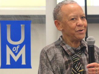 """Nikki Giovanni: """"If you're going to be an artist, you're going to contradict yourself."""" (Photo: Harlan McCarthy)"""