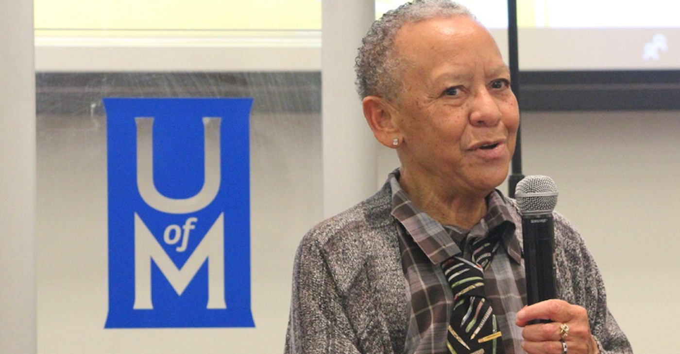 "Nikki Giovanni: ""If you're going to be an artist, you're going to contradict yourself."" (Photo: Harlan McCarthy)"