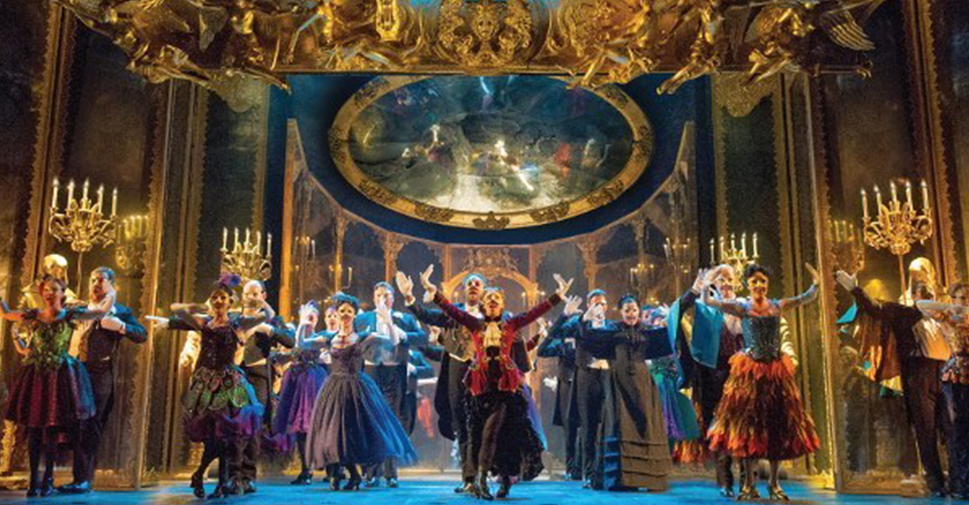 The Phantom of the Opera will be playing at the Marcus Center starting March 6. (Picture by Matthew Murphy)