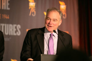"""Virginia Democratic Sen. Tim Kaine said HBCUs have """"persisted and thrived because your mission is right."""""""