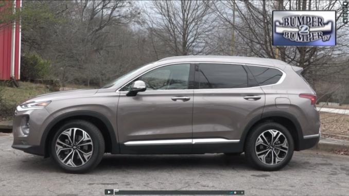 Bumper2Bumpertv 2019 Hyundai Santa Fe/Crossover
