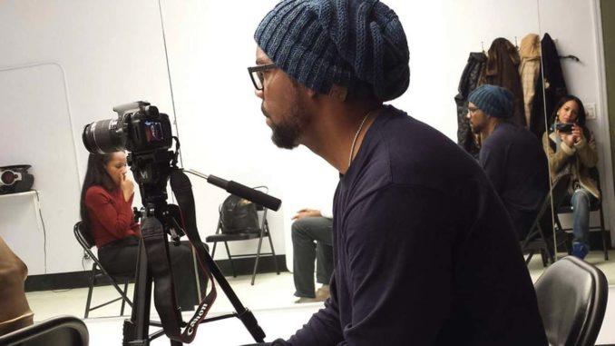 Actor and filmmaker Shiek Mahmud-Bey