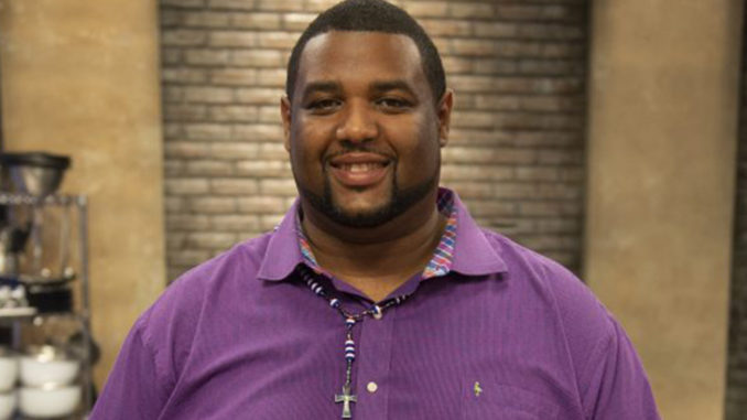 Stand-up comedian and bad cook Travele Judon. (Photo credit: The Food Network)