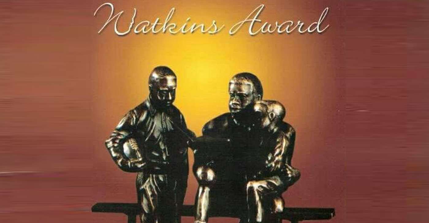 The Watkins Award honors a Black student-athlete who has excelled on the field, in the classroom and community. (Courtesy Photo)