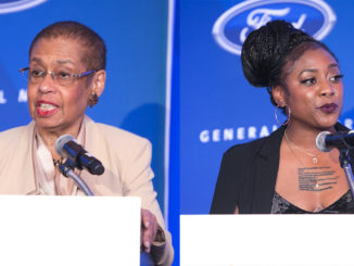 """""""What an honor to receive this affirmation from what I refer to as the source,"""" said Rep. Eleanor Holmes Norton, who has fought to help the Black Press receive advertising from the federal government, whose various agencies has spent nearly $5 billion on ads over the past decade but just 5 percent of those dollars spent with African American-owned media."""