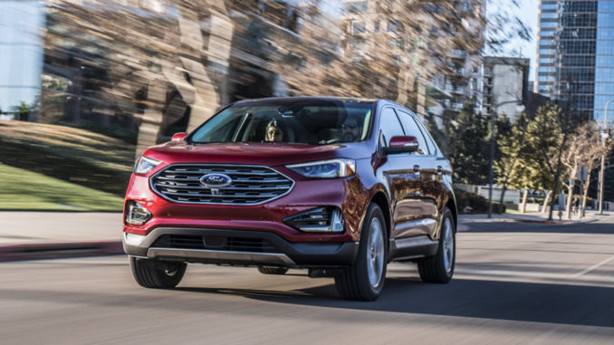 The 2019 Edge could park itself – perpendicular or horizontally. It rode on a slick set of 20-inch alloy wheels. And it had evasive steering assist, adaptive cruise control, voice controls and a premium audio system.